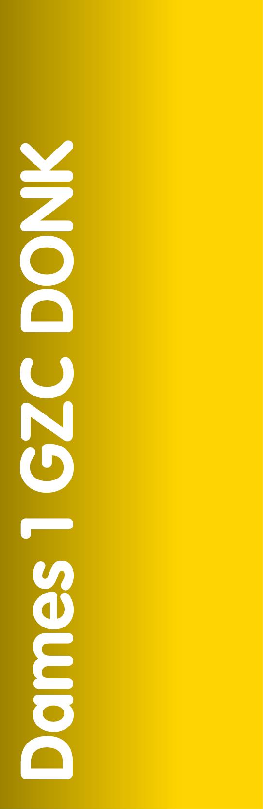 Dames 1 GZC DONK